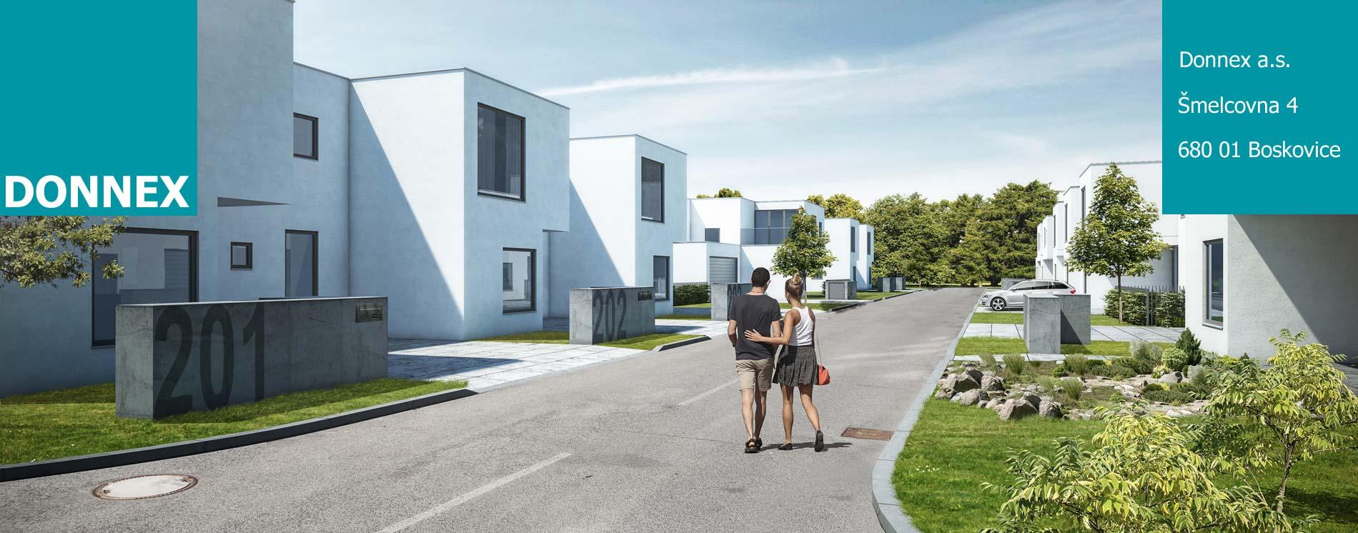 Developerské projekty rodinné domy brno